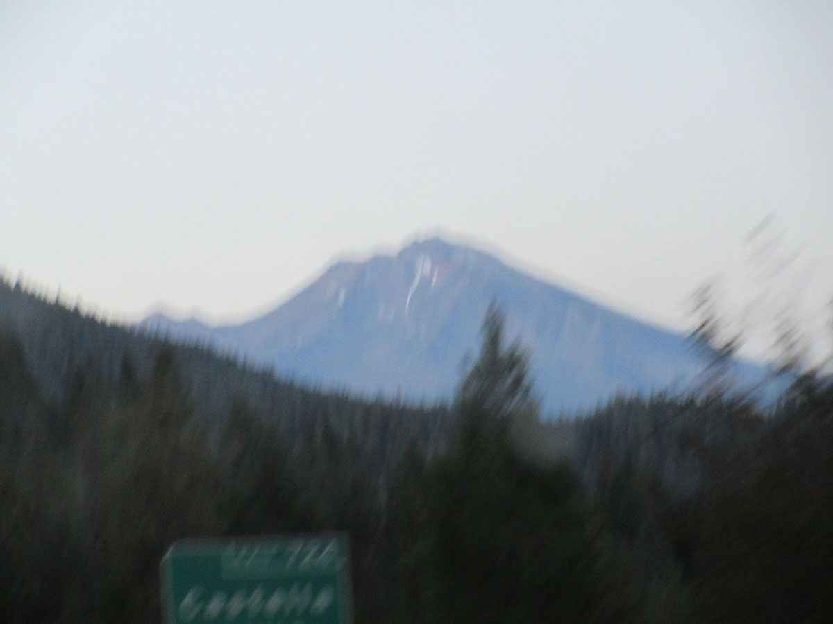 Mount Shasta in Oregon