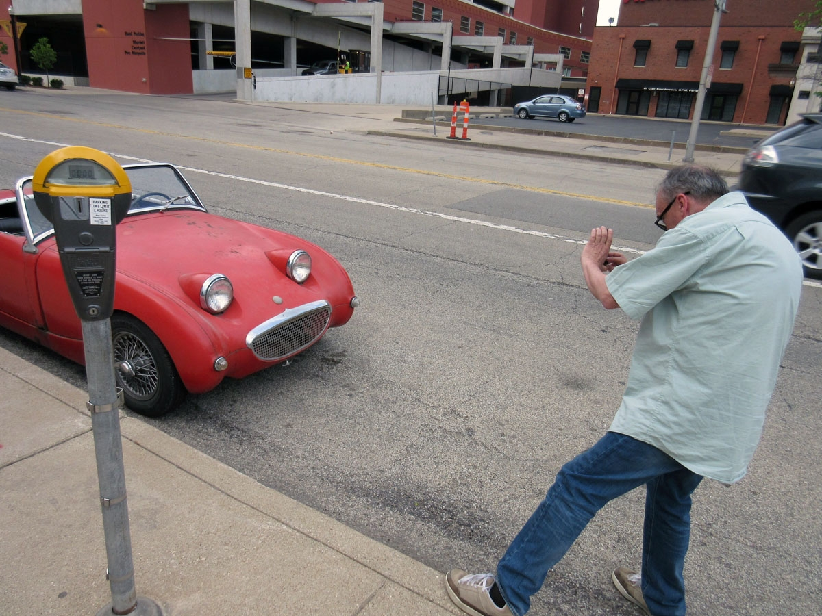 John shooting a Bugeye Sprite in Peoria IL