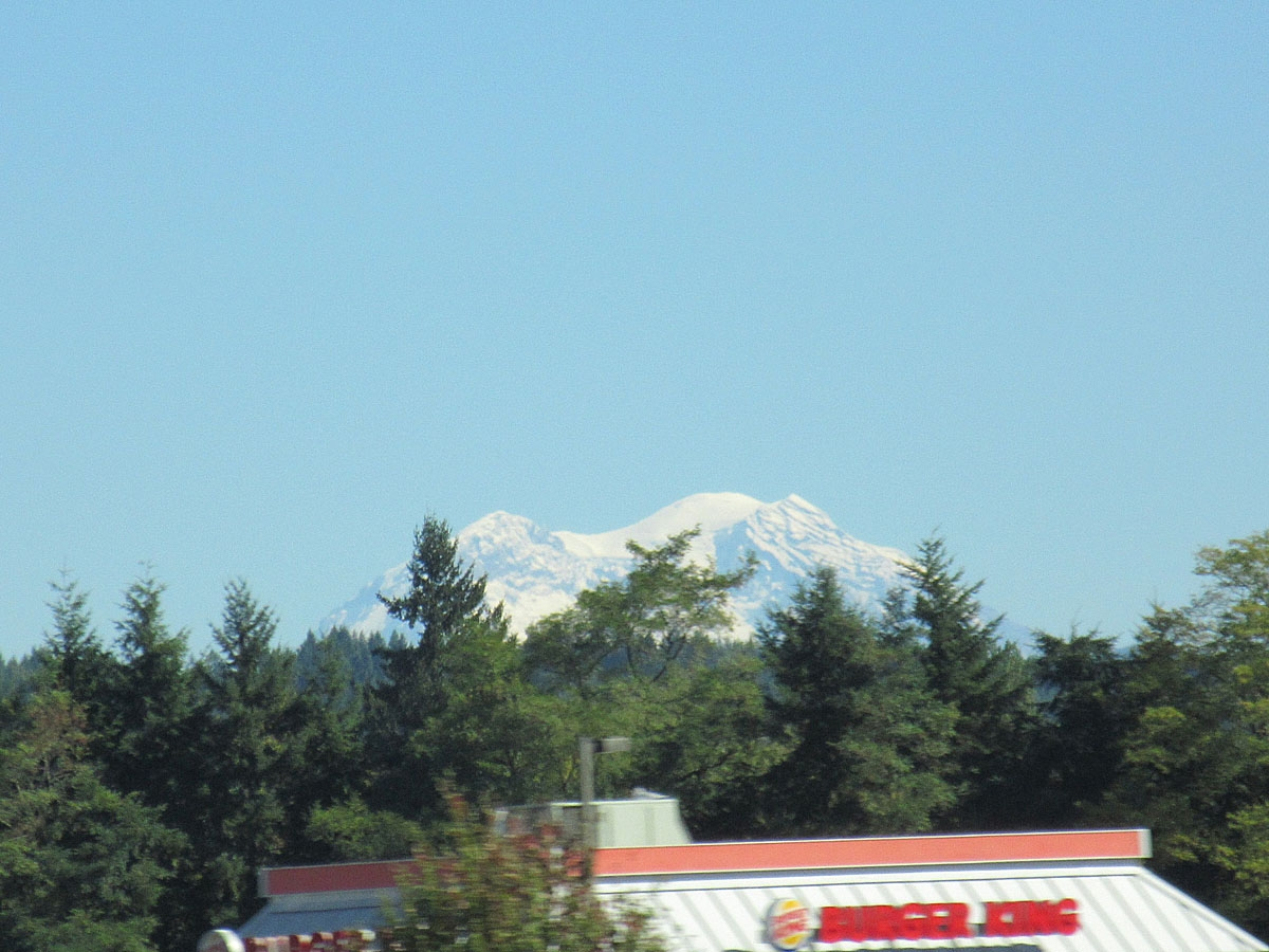 Mount Ranier in Washington